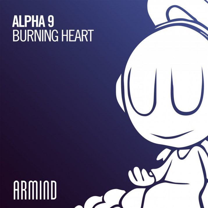 ALPHA 9 aka Arty — Burning Heart — Single