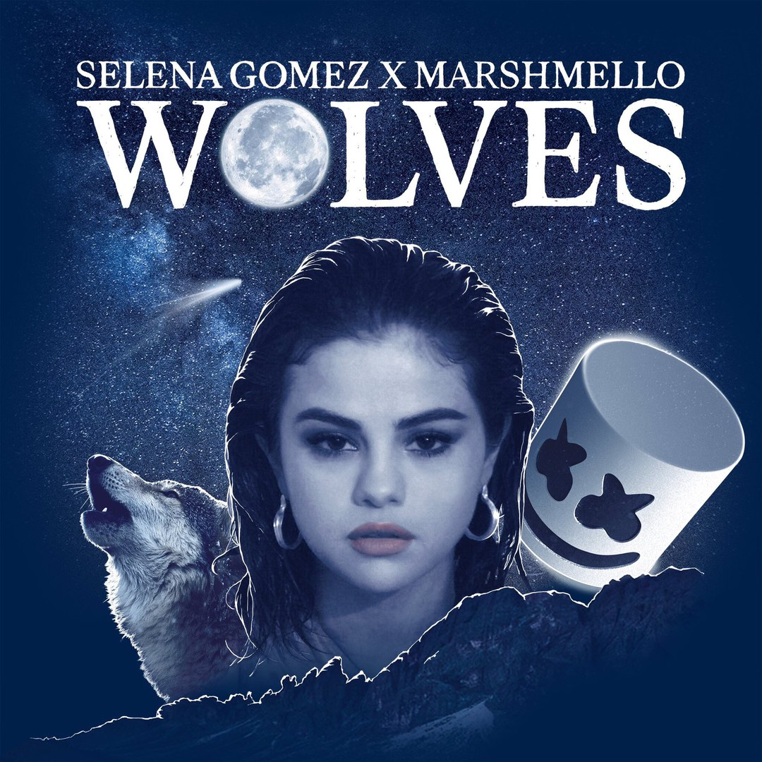 Selena Gomez & Marshmello — Wolves — Single