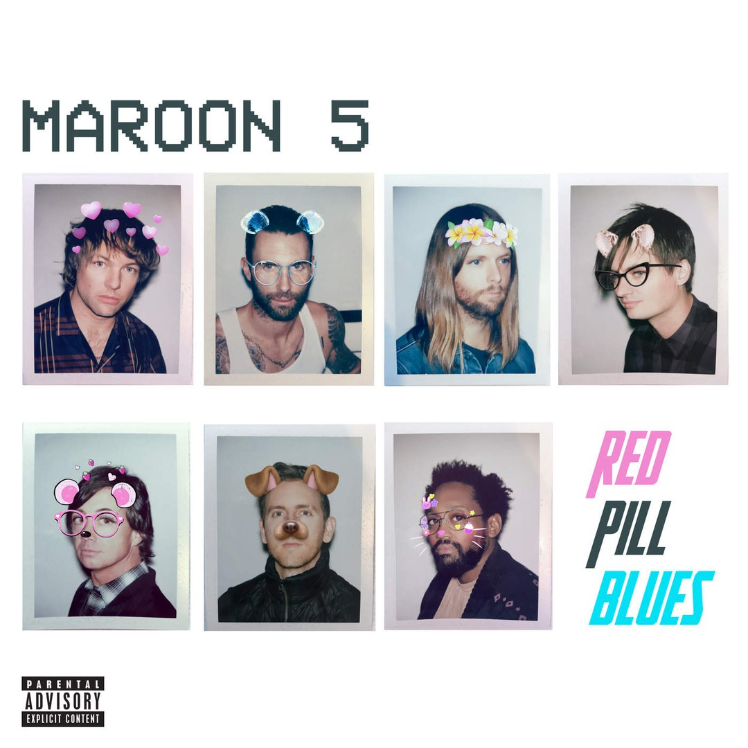 Maroon 5 — Red Pill Blues — LP