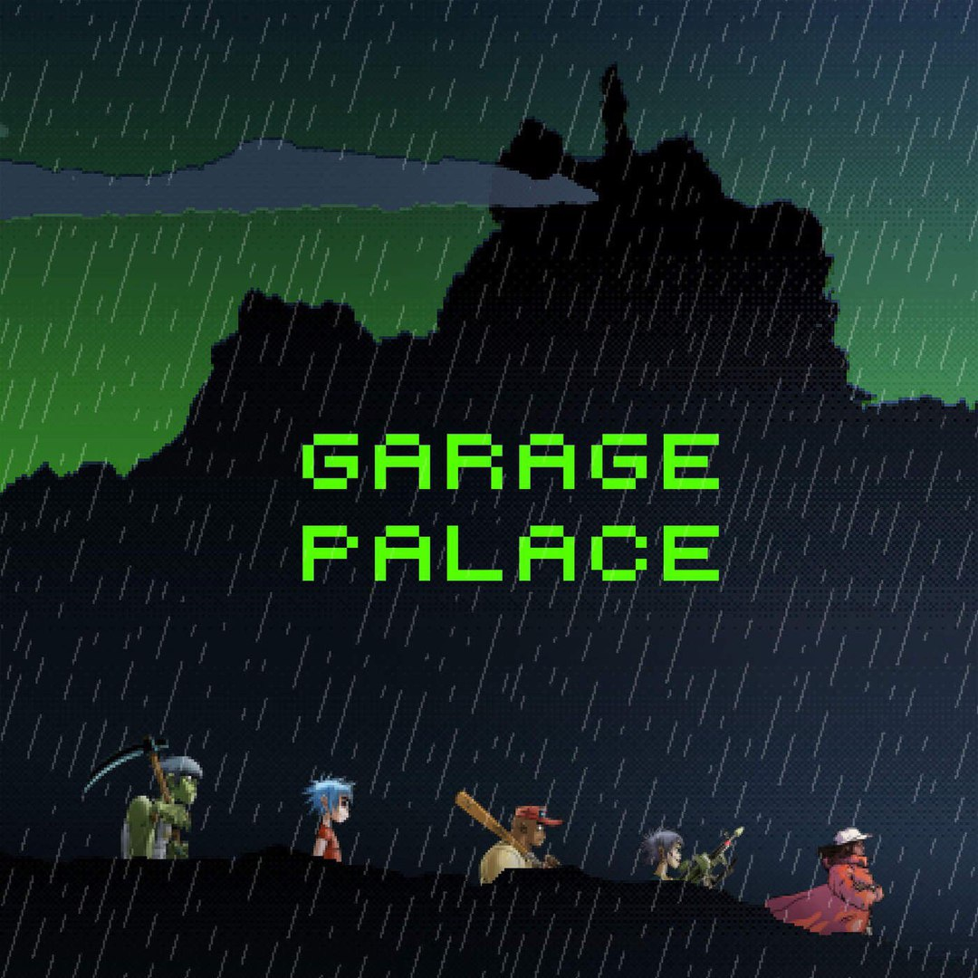Gorillaz — Garage Palace (feat. Little Simz) — Single